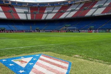 Excursão pelo Estádio de Futebol Atlético de Madrid e Ingresso para o...