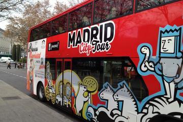 Excursión en autobús con paradas libres por Madrid y catas de comida...