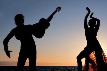 Flamenco-Lektion und Vorstellung im Cafe de Chinitas mit einem...