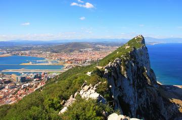 Gibraltar heldags sightseeingtur fra Costa del Sol