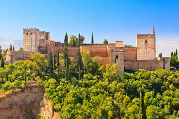 Granada Walking Tour with Alhambra Gardens from Costa del Sol