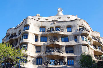 Heldagstur med sightseeing i Barcelona