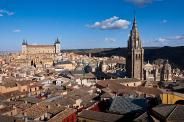 Madrid Super Saver: dagtrip naar klooster El Escorial en Toledo ...