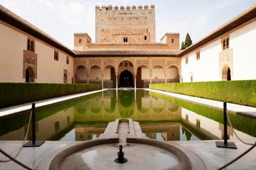 Malaga-Landausflug: Tagesausflug nach Granada mit Alhambra und Gärten...