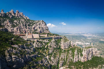Montserrat Monastery from Barcelona...