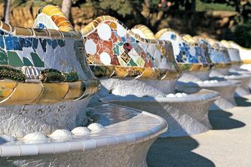 Obras artísticas de Barcelona, incluindo a La Sagrada Familia, de...