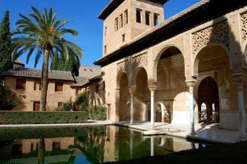 Recorrido a pie por Granada con los jardines de la Alhambra