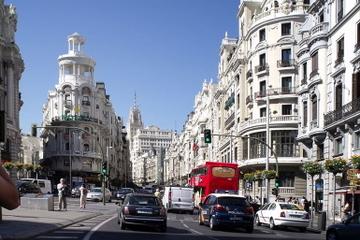 Sightseeing med panoramautsikt over Madrid
