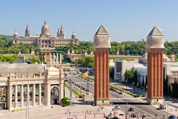 Viagem diurna de trem de Madrid à Barcelona