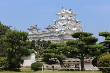 Castillo Himeji, jardín Koko-en y puente de Akashi Kaikyo desde Kioto