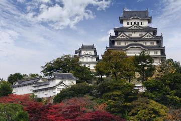 Château d'Himeji, et pont Akashi Kaikyo au départ d'Osaka