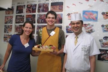 Ochtendtour vanuit Tokio: sushi maken en naar de Tsukiji-vismarkt