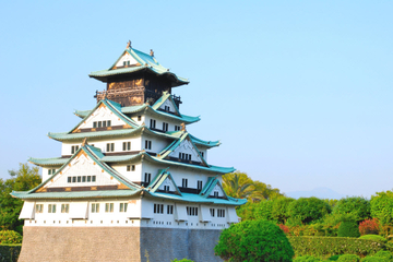 Recorrido a pie por Osaka con crucero por el río y Castillo de Osaka...