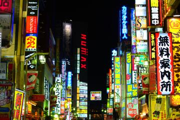Shinjuku and Kabukicho Evening...