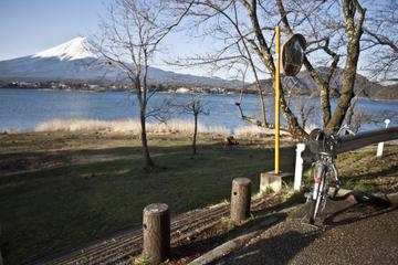 Tour naar de berg Fuji met fietstocht rond het Kawaguchi-meer vanuit ...