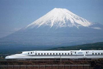 Viagem de um dia saindo de Tóquio, ao Monte Fuji, lago Ashi e em trem...