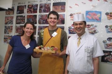 Visite matinale de l'atelier de sushi et du marché aux poissons de...