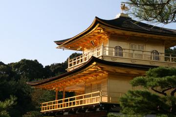 Vormittagstour durch Kyoto zum Kinkakuji-Tempel, der Burganlage Nijo...
