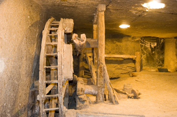 Halvdagstur fra Krakow til saltgruven...