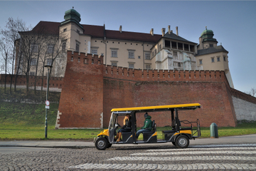 Private Tour: Stadtrundfahrt Krakau mit Elektroauto