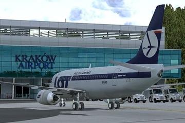 Transfer bei der Abreise zum Flughafen Krakau