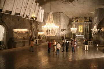 Wieliczka Salt Mine Guided Afternoon Tour from Krakow