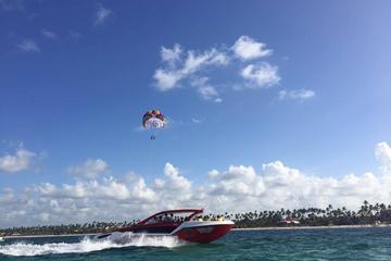 Parasailing Experience on Punta Cana Yacht