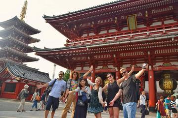 Recorrido a pie de día completo privado y personalizado en Tokio