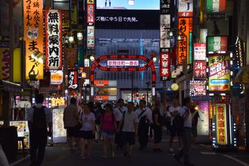 Shinjuku evening highlights food and drink tour