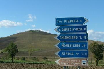 Montepulciano, Montalcino, Pienza from Florence