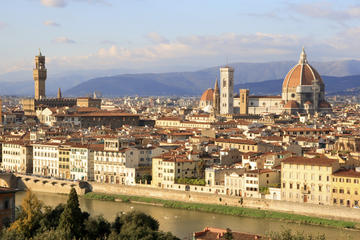Private tour from Livorno port to Florence & Chianti wine region