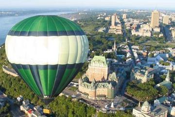 Voo de balão de ar quente em Quebec