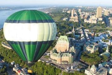 Vuelo en globo aerostático por Quebec