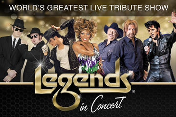 Day Trip Legends in Concert Branson near Branson, Missouri