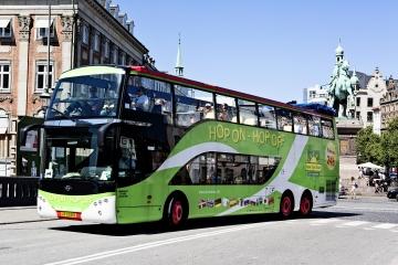 Circuit à arrêts multiples en bus et en bateau à Copenhague