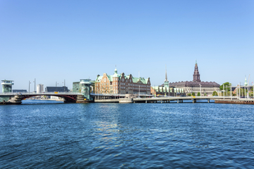Croisière des ponts de Copenhague en bateau de canal