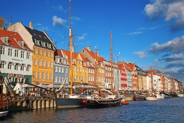 Recorrido panorámico por la ciudad de Copenhague con crucero por el...