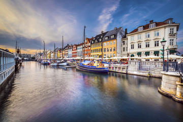 Tour dei canali di Copenaghen con ingresso saltafila ai giardini di