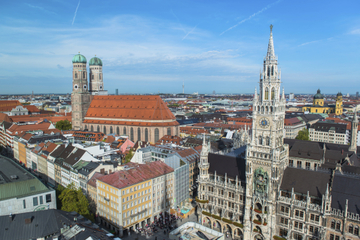 Excursão privada: excursão pela cidade de Munique e Campo de...