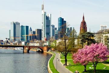 Excursão turística privativa com pernoite em Frankfurt e transporte...