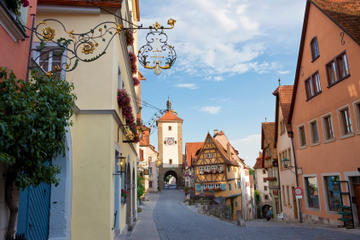 Pernottamento a Francoforte da Monaco - Strada Romantica, Rothenburg