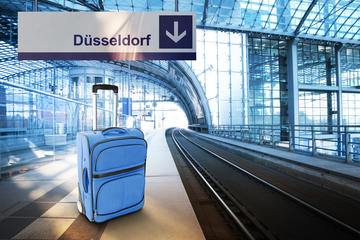 Privater Transfer bei der Abreise: Hotel zum Düsseldorfer Hauptbahnhof