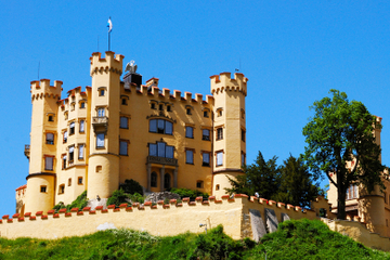 Quatro dias de Frankfurt a Munique - Rota Romântica, Hohenschwangau...