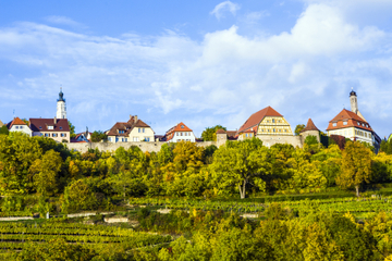 Três dias de Frankfurt a Munique - Rota Romântica, Heidelberg...