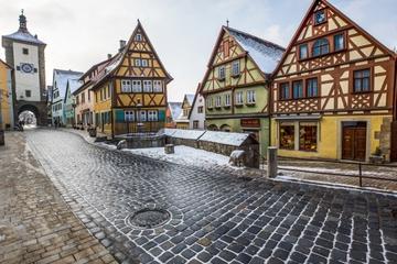 Trois jours de Francfort à Munich - route romantique, Rothenburg...