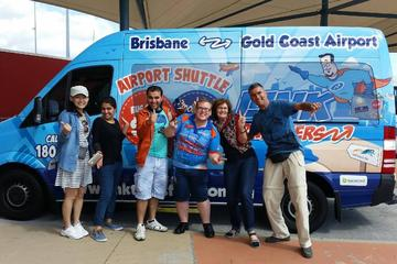 Gold Coast Airport Arrival Shuttle to Brisbane
