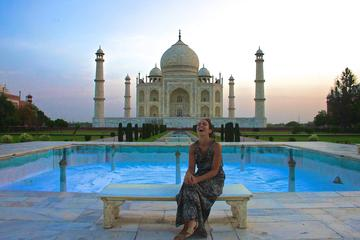 Taj Mahal Sunrise Tour From Delhi By Car with Entrances