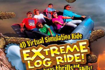 Sentosa 4D AdventureLand Admission Ticket - 3 Interactive Experiences!