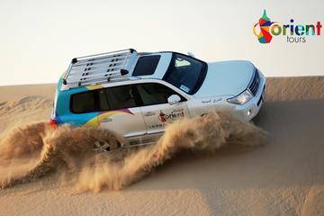 4x4-ørkentur, sandboarding, kamelridning, middag i Dubai