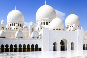 Abu Dhabi Landausflug: Scheich Zayed Moschee und Falkenklinik